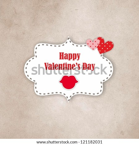 Valentines day - Love card