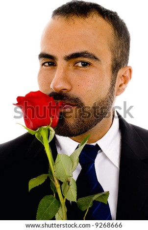 Valentines Guy - stock photo