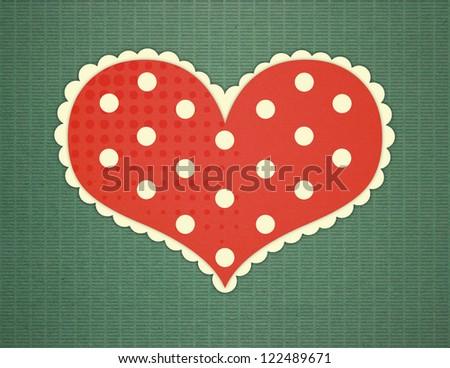 Valentines heart - stock photo