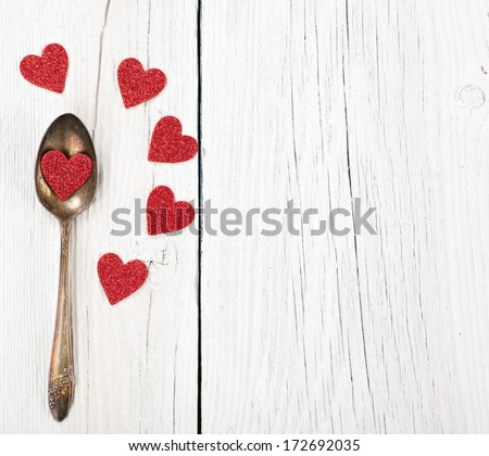 Valentines or romantic dinner concept - stock photo