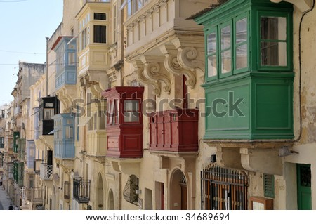 Valetta, Capital of Malta - stock photo
