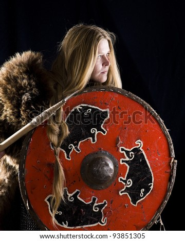 Valkyrie - stock photo