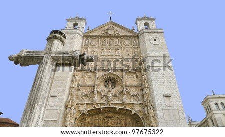 Valladolid, historic and cultural city, located in Castile-Leon community, Spain.