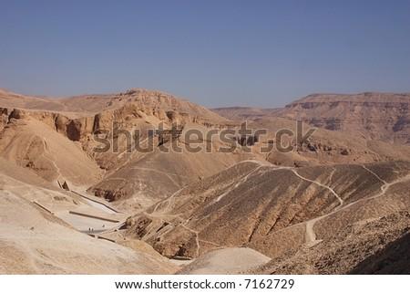 valley of kings - luxor - egypt - stock photo