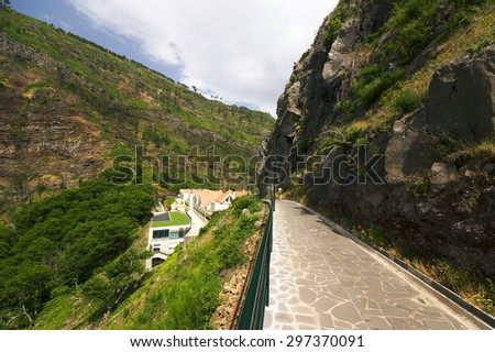 Valley of Nuns in Madeira, Portugal, Europe