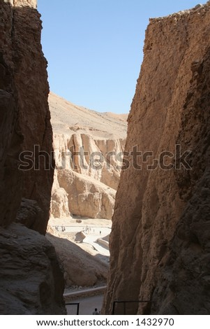Valley of the Kings (from hill)