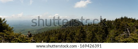 Valley Panorama - Grandfather Mountain area, NC