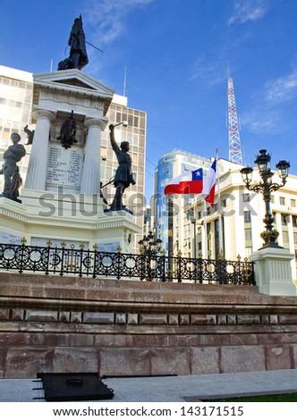 Valparaiso Chile - stock photo