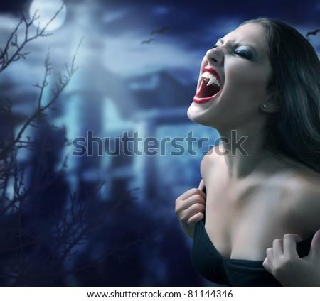 Vampire - stock photo