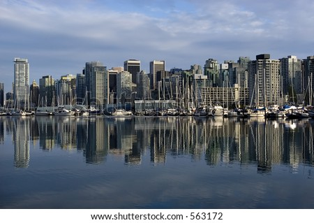 Vancouver downtown - stock photo