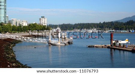 Vancouver Harbour, Canada - stock photo