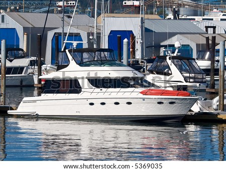 Vancouver lifestyle of the rich set - stock photo