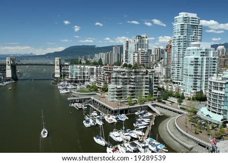 Vancouver Pacific Gateway - stock photo
