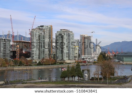 Vancouver's Downtown View