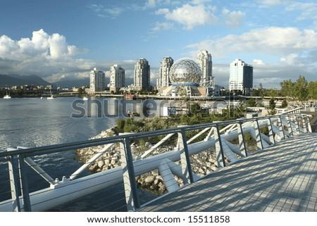 Vancouverâ??s New False Creek Community - stock photo