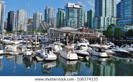 Vancouver Waterfront, Canada - stock photo