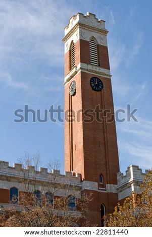 Vanderbilt university campus in Nashville, TN - stock photo