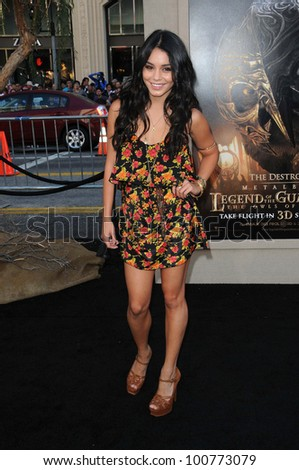 "Vanessa Hudgens at the ""Legend Of The Guardians"" World Premiere, Chinese Theatre, Hollywood, CA. 09-19-10"