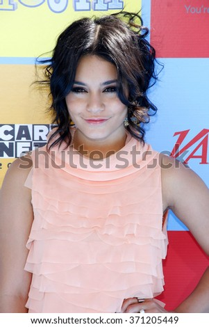 Vanessa Hudgens at the Variety's Power Of Youth held at the Paramount Studios in Los Angeles, United States on September 15, 2012.   - stock photo