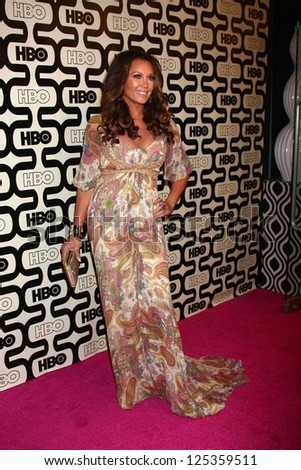 Vanessa L Williams at HBO's Official Golden Globe Award After Party, Beverly Hilton Hotel, Beverly Hills, CA 01-13-13 - stock photo