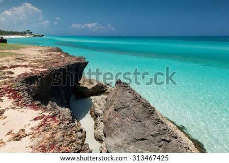 Varadero in Cuba - stock photo