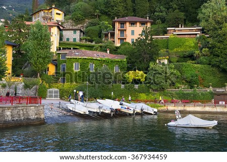 Varenna resort, Como Lake, Italy, Europe