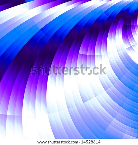 varicoloured abstract stripes expressing harmony of lines and force of color - stock photo