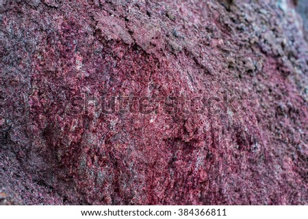 varieties of clay and sand red clay green clay graphite ore under earth of careers ore different clay - stock photo