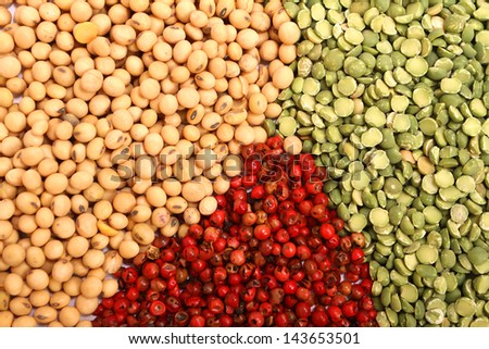 Variety of spices.  - stock photo