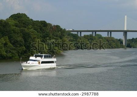 varina cruise boat - stock photo