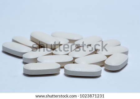 Various and colorful pills