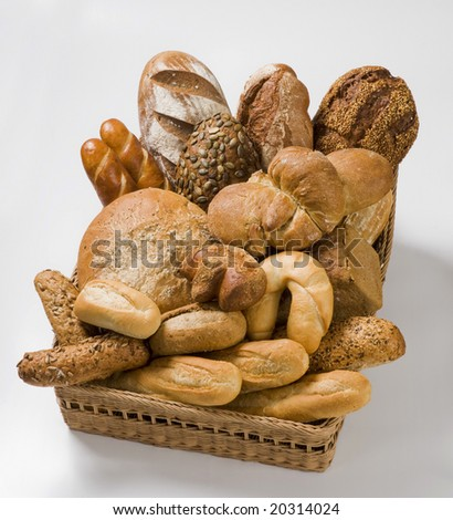 Various bakery products - stock photo