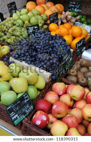 Various kind of fruit - stock photo