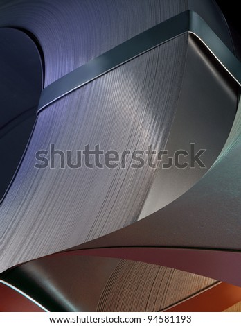various metal patterns - stock photo