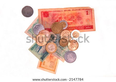 various money and coinage from around the world