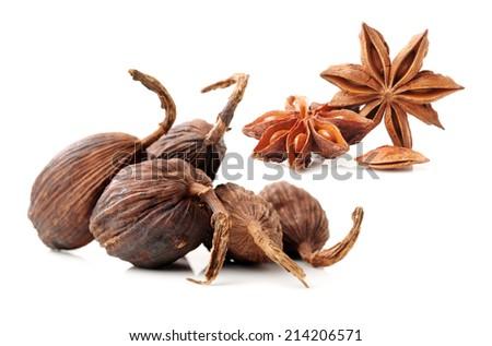 Various seasonings - stock photo