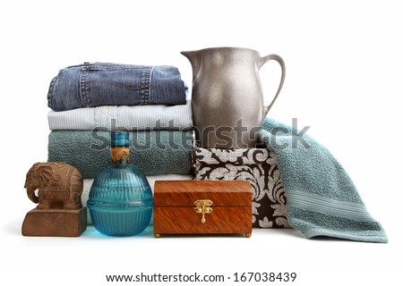 Various used items  - stock photo