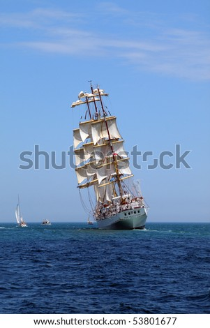 Tall ships pictures art - size 3r photo