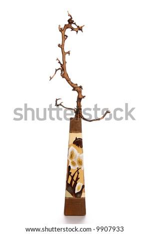vase ikebana, - stock photo