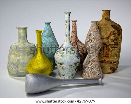 Vases - stock photo