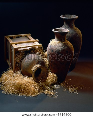 Vases - stock photo