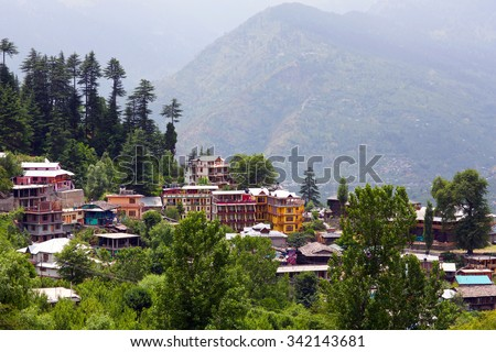 Vashist village in Kulu valley, India. Kullu, or Kulu, is the capital town of the Kullu District in the Indian state of Himachal Pradesh. It is located on the banks of the Beas River