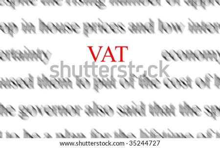 VAT - stock photo