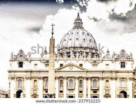 Vatican building. - stock photo