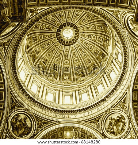 Vatican masterpiece - stock photo