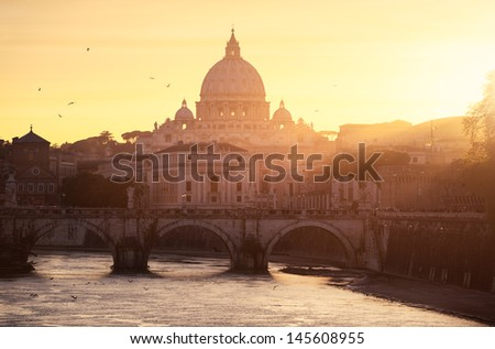 Vatican Rome - stock photo