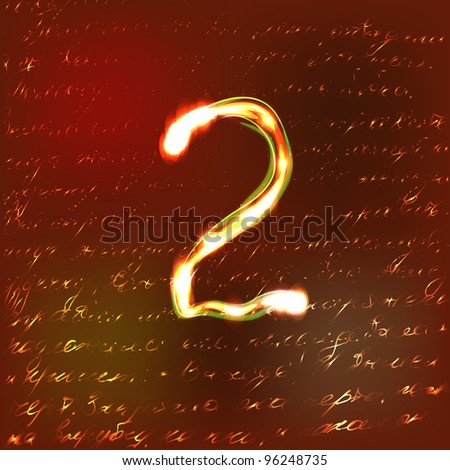 Vector - Alphabet Golden - stock photo