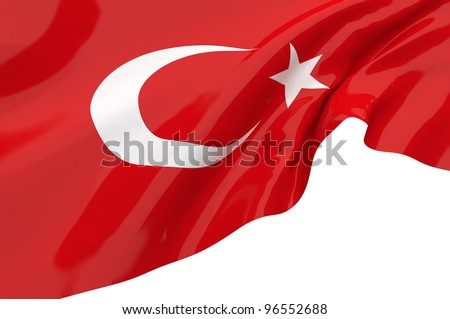 Vector Flags of Turkey