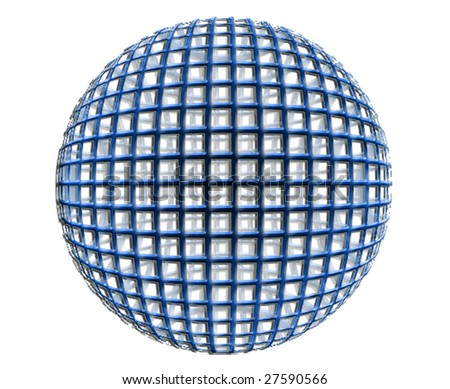 vector globe - stock photo