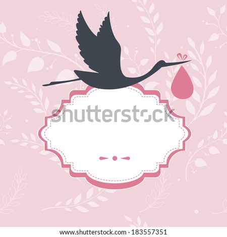 Vector illustration (eps 10) of Congratulation for you - stock photo